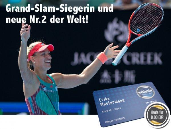 Tennis: 1 Jahr Premium-Mitgliedschaft bei mybigpoint.de für 0€ - nur am 30.01.2016