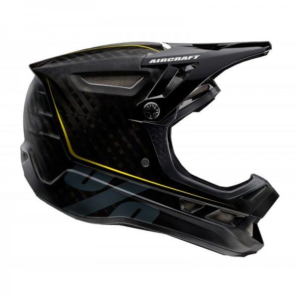 100% Downhill Helm AIRCRAFT RAW BLACK