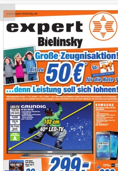 Zeugnisaktion Expert Bonn bis 50€