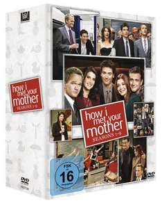 [Saturn.de] HIMYM - How I Met Your Mother Komplettbox (1-9) auf DVD für 70 € (mit NL-Gutschein, VSK-frei)