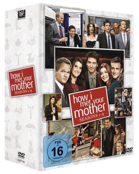 [Saturn.de] HIMYM - How I Met Your Mother Komplettbox (1-9) auf DVD für 70 € (mit NL-Gutschein, VSK-frei)