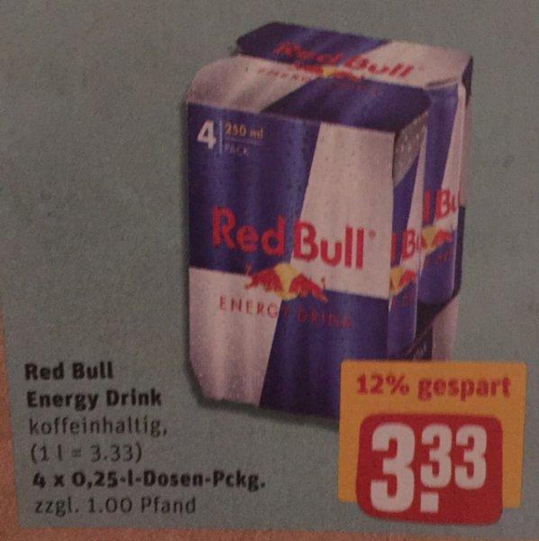 Red Bull für 83 Cent REWE
