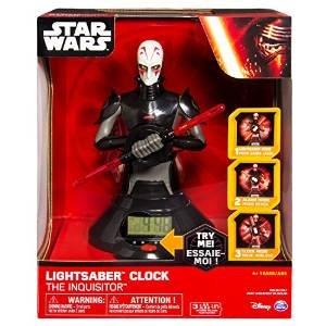 Spin Master 6025102 - Star Wars - Lightsaber Clock