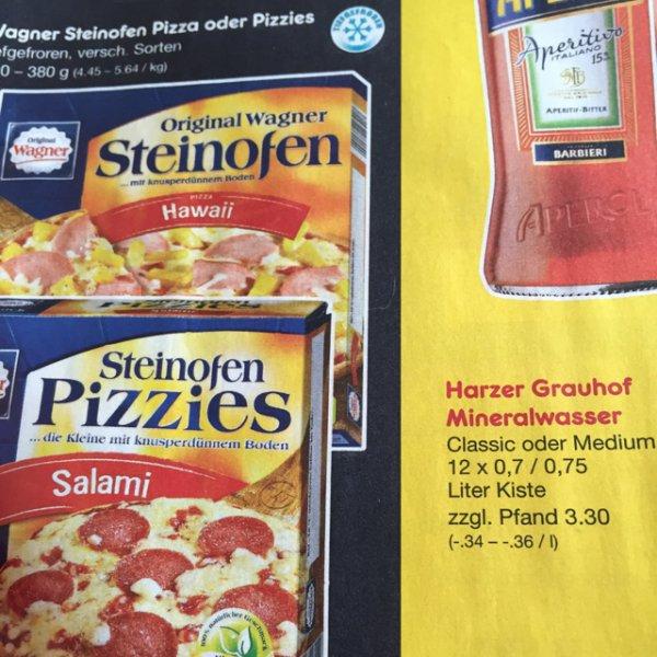 Wagner Steinofen Pizza ab 1,35€ bei Netto MD (Evtl. nur Lokal, da Gutscheine genutzt werden)