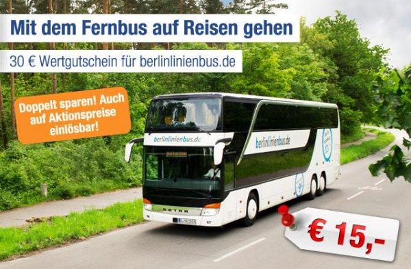 30€ Wertgutschein Berlinlinienbus für 15€ [ab-in-den-Urlaub-Deals]