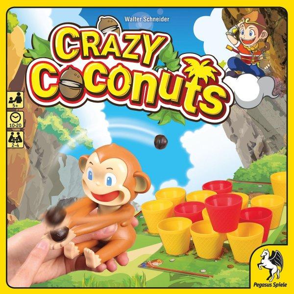 Crazy Coconuts (Brettspiel, Gesellschaftsspiel, Amazon PRIME)