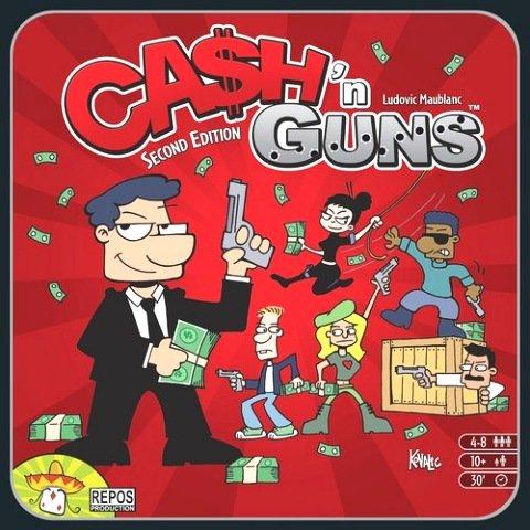 Cash'n Guns (Brettspiel, Gesellschaftsspiel, Bücher.de)