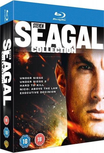 Steven Seagal Collection (Fünf Filme auf Blu-ray) für 10,79 € bei zavvi.de