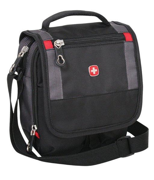 [3% Qipu] Wenger SA1092239 ''Travel Accessories'' Classic Mini Boarding Bag in schwarz für 12,95€ zzgl. 3€ Versand @Dealclub