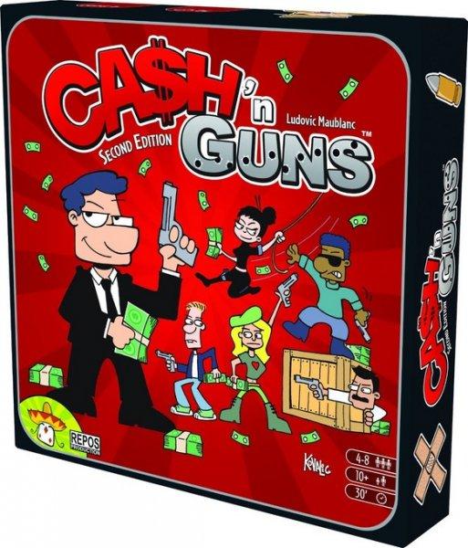 Cash'n'Guns (Brettspiel, Gesellschaftsspiel)
