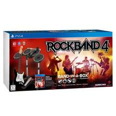 Rock Band 4 Band in a Box Bundle für PS4 für 159,53 € @ Amazon.FR (WHD 144,81 sehr gut, 150,70 wie neu)