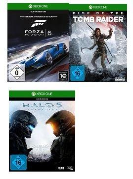 [Saturn Österreich] Halo5 Guardians (XBO) + Rise of the Tomb Raider (XBO) + Forza Motorsport 6 (XBO) für zusammen 50,-€* Leider kein Onlineversand mehr möglich.Daher nur für Österreicher *Update Jedes Einzelspiel jetzt 19,-€..Halo 5 ausverkauft