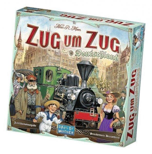 Zug um Zug Deutschland (Brettspiel, Gesellschaftsspiel, Hugendubel.de)