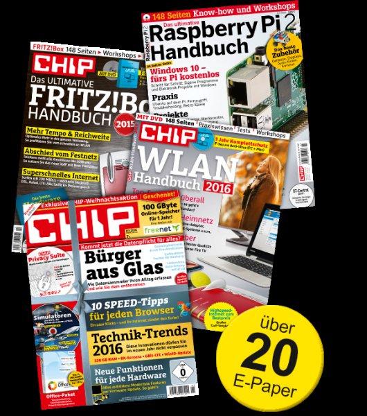 Chip Technik-Flat XL ( E-Paper) 2 Monate kostenlos