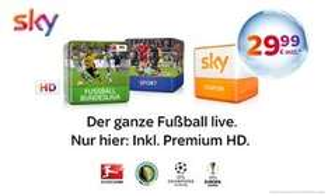 Sky Starter + Bundesliga + Sport Inklusive Premium HD