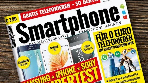 Smartphone Magazin Presseplus Jahresabo für 16,58 € Endet automatisch