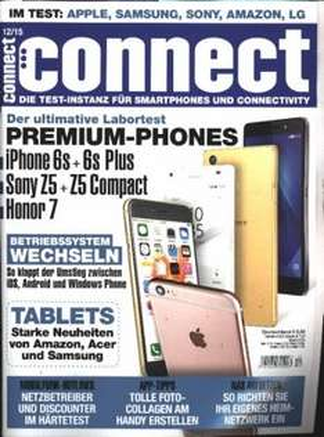 (Abo24.de) Jahresabo Connect für 74,40€ + 50€ Bargeldprämie und 1 Monat geschenkt (13 Ausgaben)