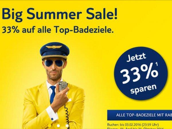 Zahlreiche günstige Flüge zur besten Sommerferienzeit nach Mallorca hin und zurück bei TUIfly ab 107,18
