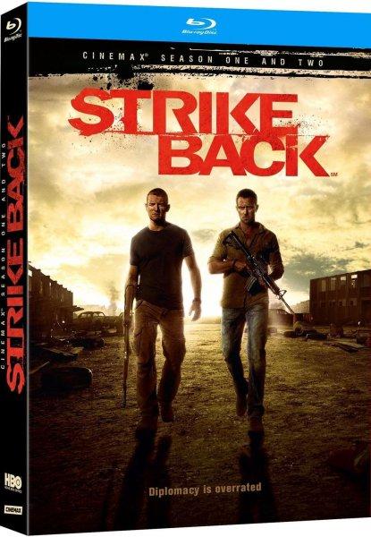(Amazon.fr) Strike Back: Project Dawn - Cinemax Saisons 1 & 2 (Staffel 1 in deutsch, Staffel 2 im O-Ton) [Blu-ray] für 18,71 EUR
