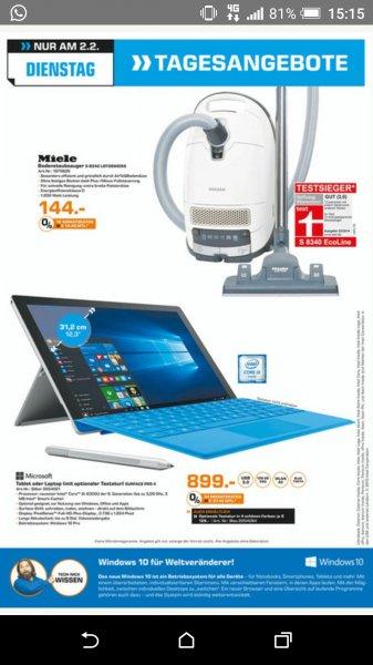 [Lokal Karlsruhe] Microsoft Surface Pro 4 128GB i5 für 899€