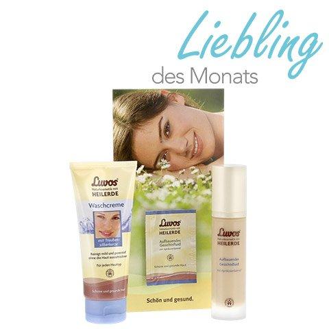 [medpex] Luvos Aufbauendes Gesichtsfluid (50 ml) + Luvos Waschcreme (100 ml) für 9,99€ und VSK-frei