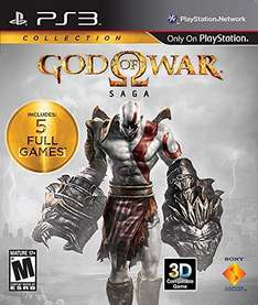 God of War: Saga Collection - 5 Spiele (PS3) für 16,29€ bei Amazon.com