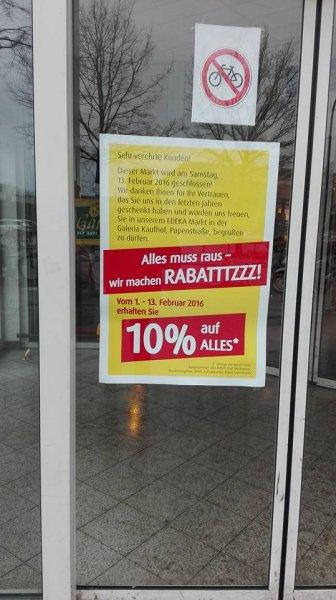[Lokal] Bremen 10% auf alles bis 13.02 Edeka Bremen Hbf