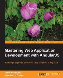 "Ebook ""Mastering Web Application Development with AngularJS"" zum kostenfreien Download"
