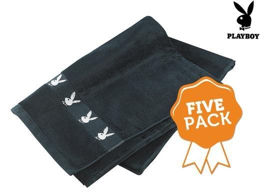 [ibood] 5 Playboy Handtücher für 25,90€