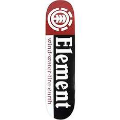 Element - Team Section 7,5 - Skateboard Deck