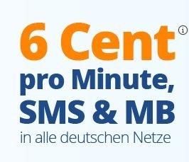 discoTEL LTE Prepaid 6 Cent