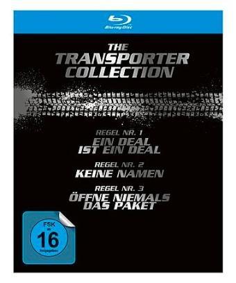 The Transporter Collection (4 Blu-ray) für 16,89 € bei Brands4friends