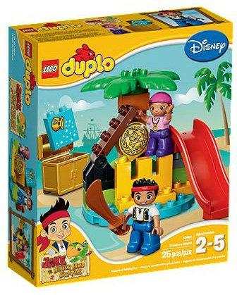 [Lego Duplo] Jake und die Nimmerland-Piraten-Schatzinsel 50% Rabatt