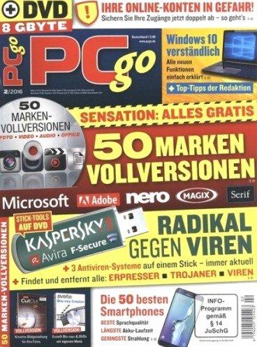 PCgo Classic DVD Jahresabo + 1 Monat geschenkt (13 Ausgaben) für 64,80€ + 50€ Barscheck