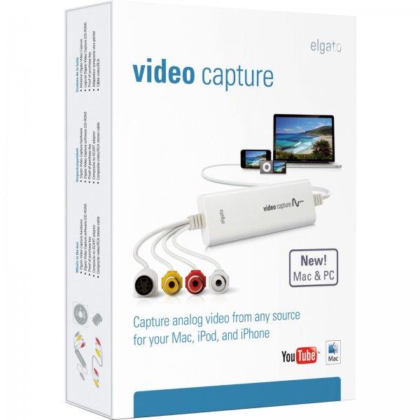 [Ebay/Alternate] Elgato Video Capture, Videos digitalisieren und auf Mac, PC, iPad übertragen, USB 2.0, weiß  für 44,-€ Versandkostenfrei