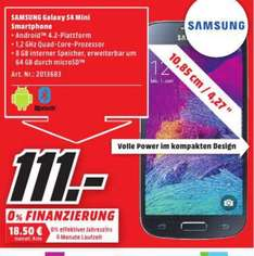 (Lokal) Samsung Galaxy S4 Mini Value Edition für 111€ @ Mediamarkt Koblenz (Tagesangebot 08.02)