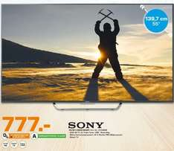 [Lokal Saturn Ludwigsburg] Sony KD-55X8005C Fernseher 139 cm (55 Zoll) 4K Ultra HD LED-TV, 200 Hz, Twin HD Triple Tuner, Android TV  für 777,-€ *Bestpreis*