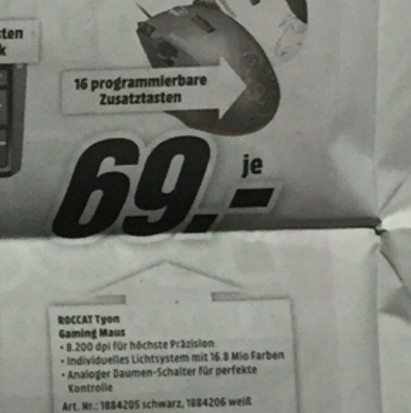 [Lokal Stralsund?] Roccat Tyon MediaMarkt 69€