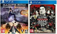 [hdgameshop.at] Saints Row IV Re-elected (100% Uncut) - Gat Out of Hell Edition + Sleeping Dogs (PS4) für 34,99€