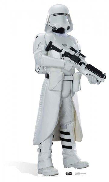 Star Wars EP7 Snowtrooper Krieg der Sterne Episode VII - Das Erwachen der Macht Pappaufsteller Pappfigur Standy ca. 182 cm für 29,83 EUR