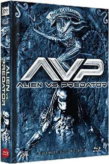 (Amazon Prime) Alien vs. Predator [Blu-ray - Limited Collector's Edition, Cover B]  für 20,19€