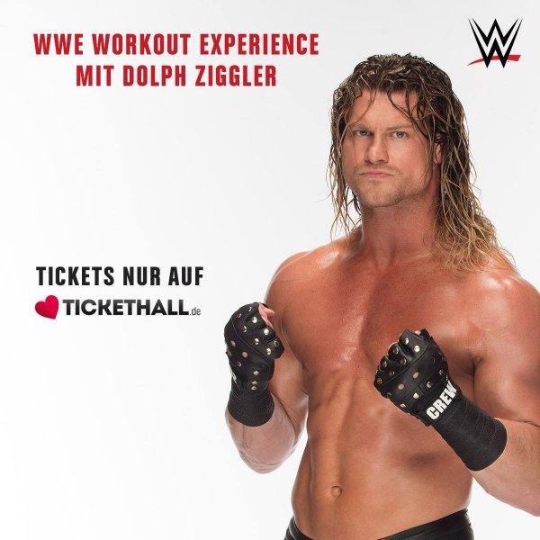 [Mannheim|WWE] Beim Workout mit Dolph Ziggler und/oder Roundtable mit Cesaro dabei sein
