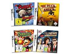 [ALLYOUNEED] 3x Nintendo DS Game Bundles [a 4 Spiele]