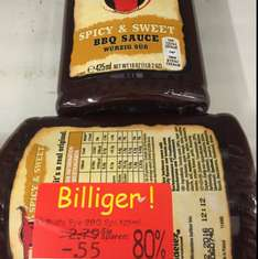 0,55€ Bulls-Eye Spicy & Sweet BBQ Sauce 425ml [Kaufland] Velbert