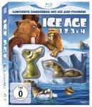 [Alphamovies] Ice Age 1, 2, 3 & 4 (Limitierte Sonderbox mit Ice Age Figuren) [Blu-ray] für 14,93€