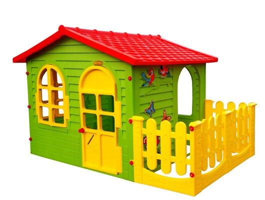 Kinderspielhaus mit Terrasse XXL