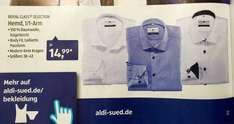 "[ALDI SÜD] ab 11.02.2016 ROYAL CLASS® SELECTION Hemd ""Body Fit"" 1/1 Arm für 14,99€"