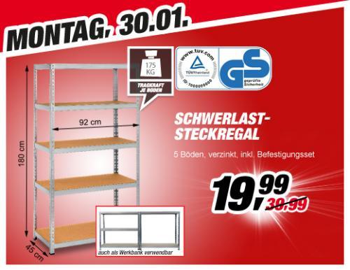 mo 30 1 schwerlast steckregal bei toom baumarkt f r 19 99 eur. Black Bedroom Furniture Sets. Home Design Ideas