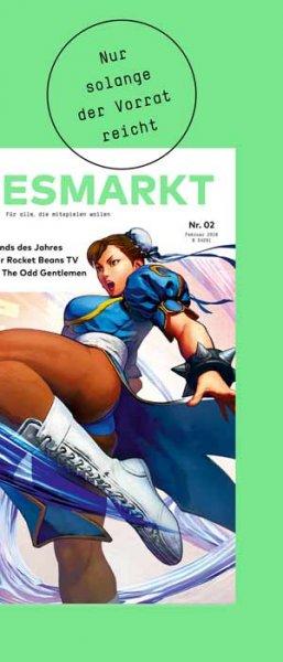 """Gratis Exemplar von """" Gamesmarkt """""""