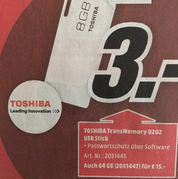 (MM) Toshiba TransMemory U202 USB-Stick